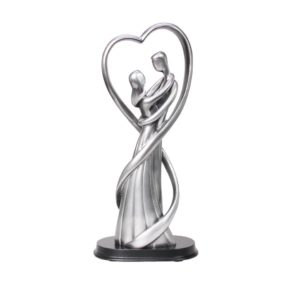900711 - Figurine Couple with heart  - 32cm