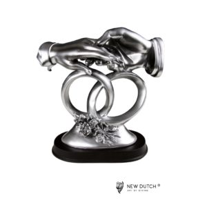 900714 - Figurine Hands with rings small - 18cm