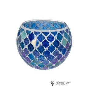 700512 - Mozaiek Glass Tealightholder