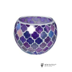 700508 - Mozaiek Glass Tealightholder