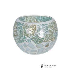 700506 - Mozaiek Glass Tealightholder