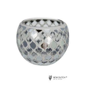 700510 - Mozaiek Glass Tealightholder