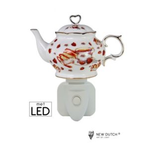 500174 - Nigh Light LED Strawberry Tea Time Delight