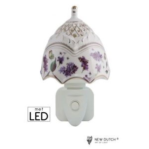 500170 - Night Light LED Butterfly Wild Flowers