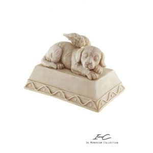 300739 - Angel Dog Urn - 400 cc