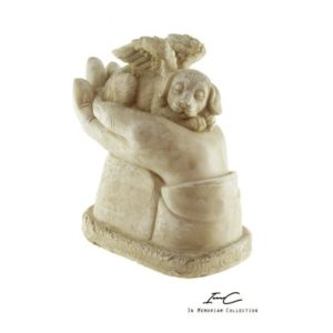 300745 - Angel Dog urn - 400 cc