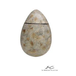 100991 - Bokaal / Urn Gemeleerd - 35 cm