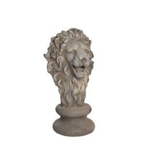 5PR0060 - Decoratie leeuw - 34*35*67 cm