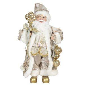 64640 - Decoratie kerstman - 15*11*30 cm