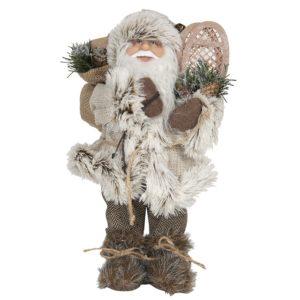 64642 - Decoratie kerstman - 15*11*30 cm