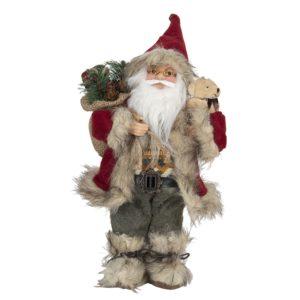 64643 - Decoratie kerstman - 15*11*30 cm