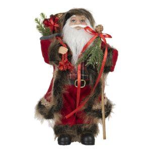 64644 - Decoratie kerstman - 15*11*30 cm