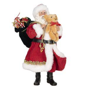 64646 - Decoratie kerstman - 14*14*28 cm