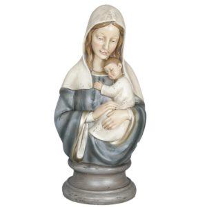 6PR0650 - Decoratie beeld Maria - 19*15*39 cm