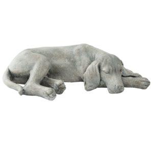 6PR1144 - Hond liggend - 58*35*15 cm
