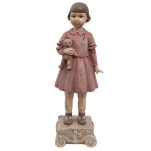 6PR1162 - Decoratie beeld meisje - 9*7*24 cm