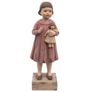 6PR1164 - Decoratie beeld meisje - 10*8*28 cm