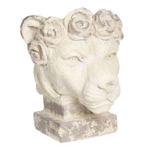 6PR2937 - Decoratie leeuw - 40*38*43 cm