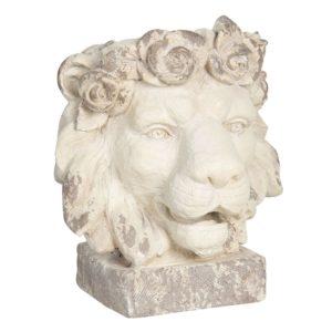 6PR2938 - Decoratie leeuw - 36*40*43 cm