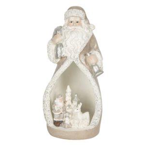6PR3069 - Decoratie kerstman LED - 8*7*17 cm