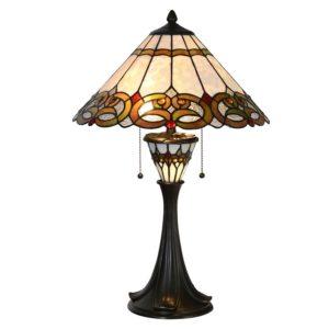 5LL-5392 - Tafellamp Tiffany - Ø 40*61 cm