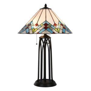 5LL-5393 - Tafellamp Tiffany - Ø 51*75 cm