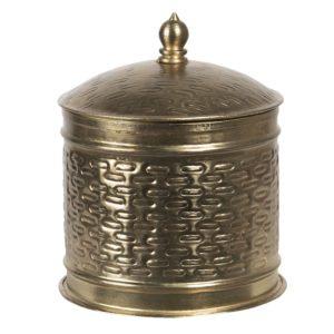 6Y4049 - Metalen doosje - Ø 15*18 cm