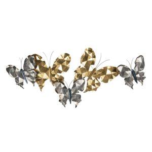 5Y0784 - Wanddecoratie vlinders - 124*6*51 cm