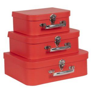 64746 - Decoratie koffer - set 3