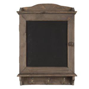 6H1950 - Krijtbord met haken - 34*8*47 cm