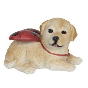 6PR3118 - Decoratie hond - 11*9*7 cm