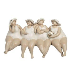 6PR3121 - Decoratie dikke dames - 24*11*13 cm