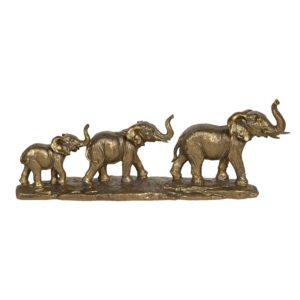 6PR3214 - Decoratie olifanten - 45*9*17 cm