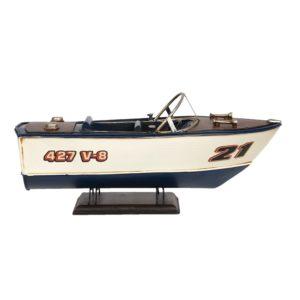 6Y4259 - Decoratie model boot - 31*13*13 cm