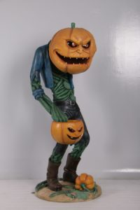 H-200009 Pompoen Scary Man - Halloween