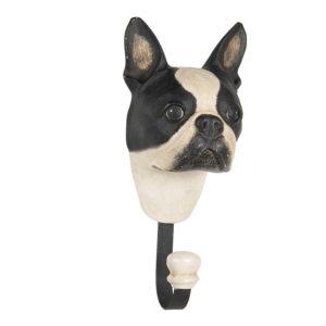 64669 - Wandhaak Boston terrier - 11*8*18 cm