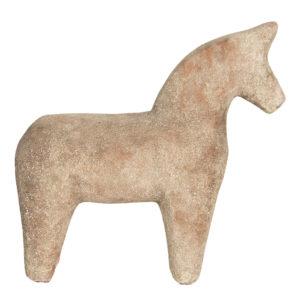 6CE1220 - Decoratie paard - 25*8*25 cm