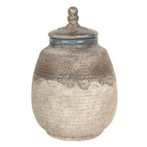6CE1226 - Decoratieve pot - Ø 15*23 cm