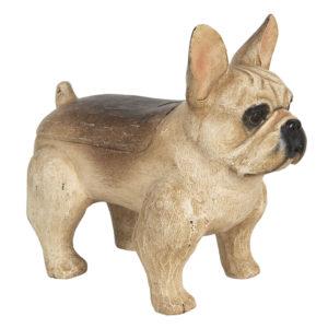 6H1923 - Decoratie hond - 27*13*24 cm