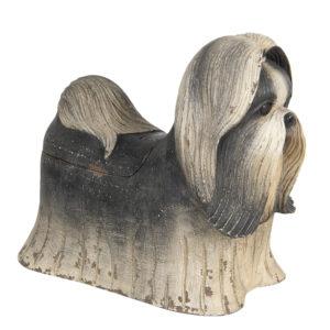 6H1924 - Decoratie hond - 24*12*20 cm