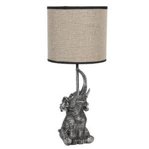 6LMC0030 - Tafellamp Olifant - Ø 20*45 cm