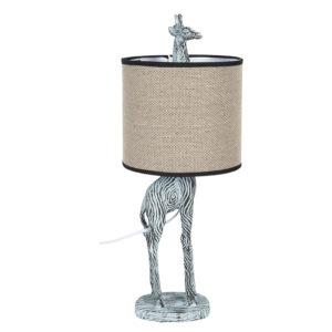6LMC0031 - Tafellamp Giraffe - Ø 20*52 cm
