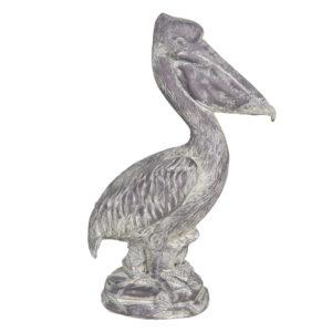 6PR3204 - Decoratie pelikaan - 19*11*31 cm