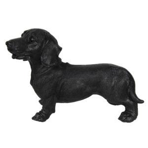 6PR3227 - Decoratie hond teckel - 32*14*23 cm