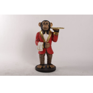 H-190039 Monkey James the Chimp 3 ft. - Chimpansee