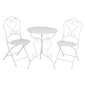 5Y0129W - Tuin tafel + 2 stoelen - set 3